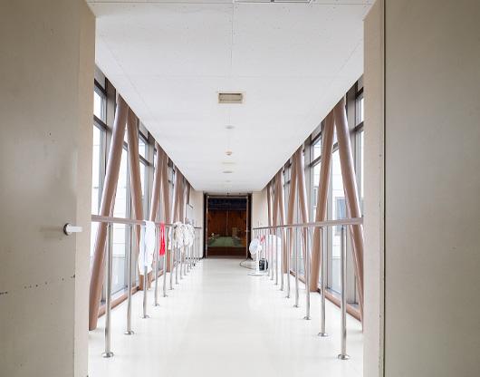 写真:渡り廊下