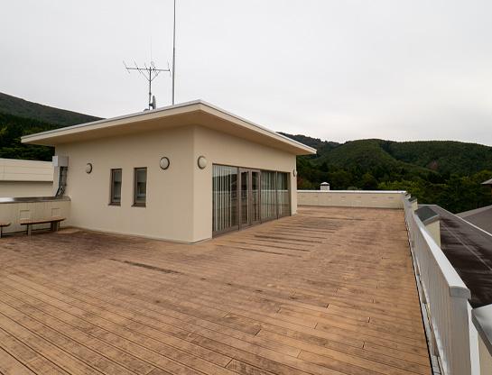 写真:屋上