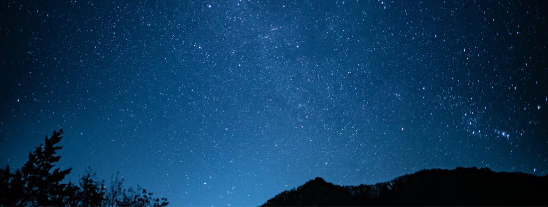 写真:星空